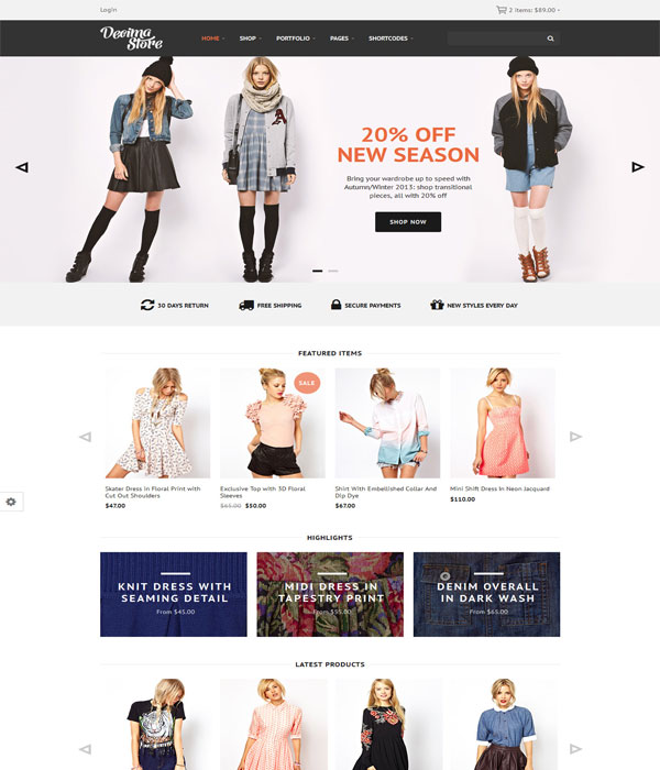 Decima-Responsive Bootstrap eCommerce HTML Template