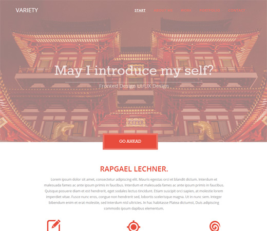 Variety-Free Flat Portfolio Bootstrap Responsive Web Template