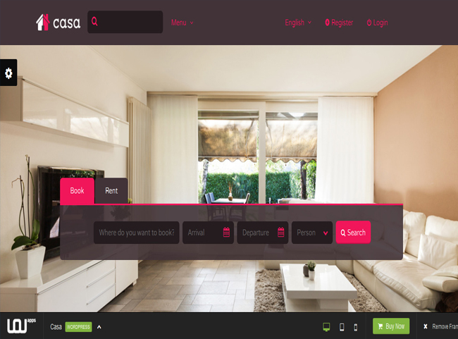 Casa - WordPress Book, Rent or Buy Property Theme
