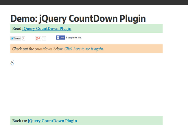 DWB Countdown - Simple easy to use Free Counter Plugin