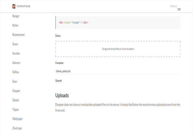 Dropper - A jQuery plugin for simple drag and drop uploads