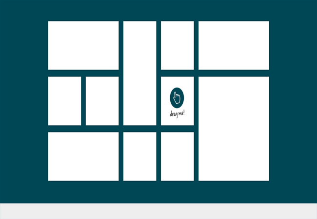 Gridster.js - Draggable layouts jQuery plugin