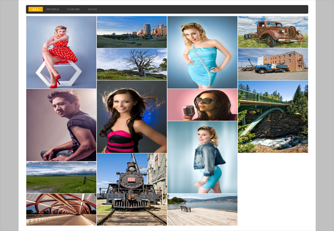 Mate Folio - jQuery Plugin for Image Gallery
