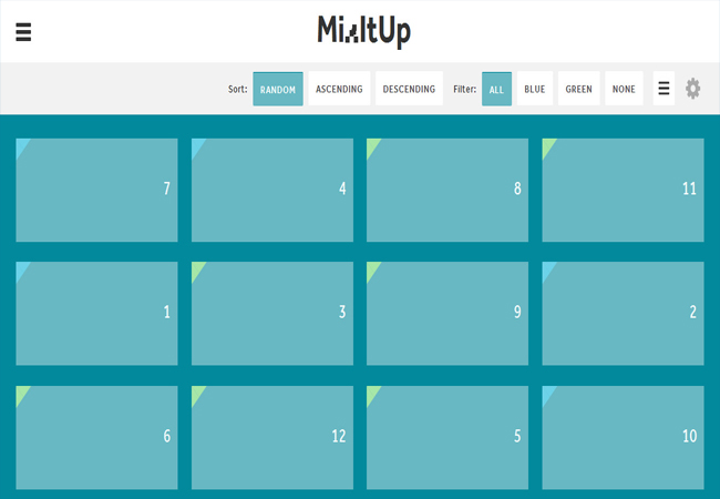 Mixitup - Free Animated Filtering And Sorting Jquery Plugins