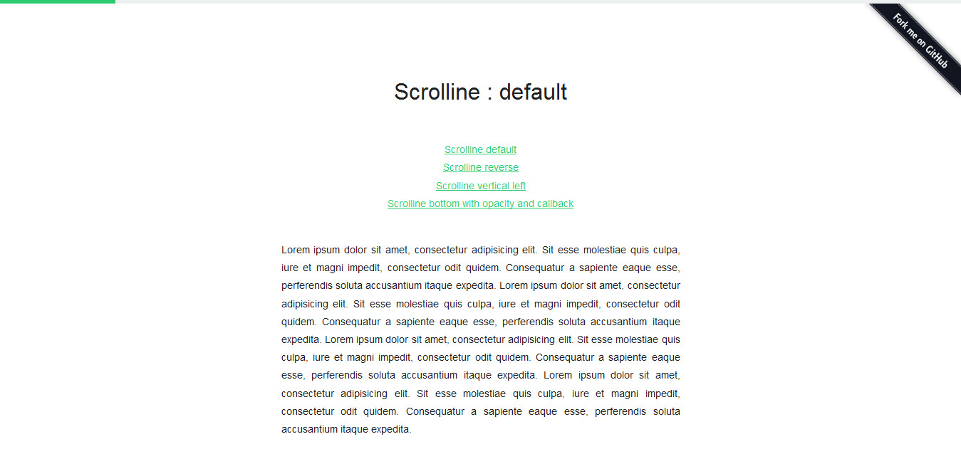 Scrolline.js - Free scroll line direction jquery plugin