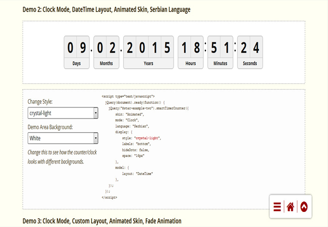 Smart - Timer and Counter Bundle jQuery Plugin