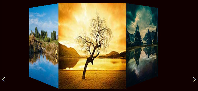 3D jquery Carousel slider image gallery