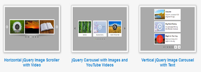 Amazing Carousel - Responsive jQuery Carousel, WordPress Image Scroller