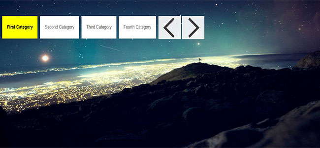 RSlider - Full Screen Responsive jQuery Image and Content Slider
