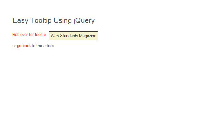 Easiest - Rollover jQuery Plugin