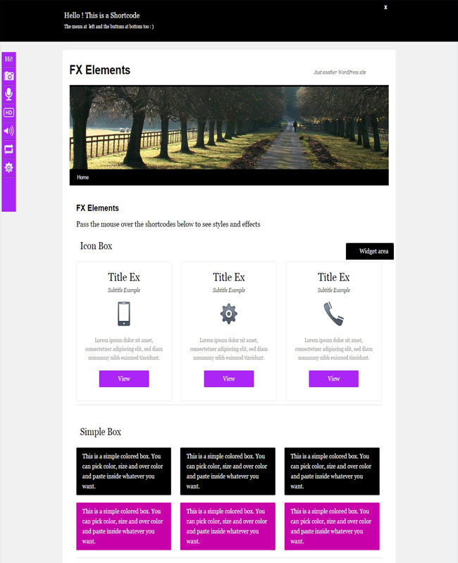 FX Elements - Easy to use WordPress Animated Plugin