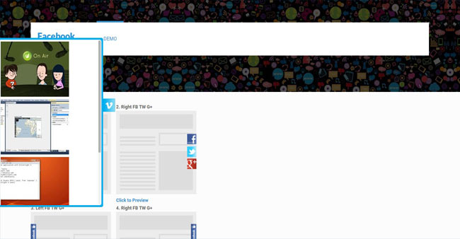 Facebook Likebox - Social Share with Slider for WordPress