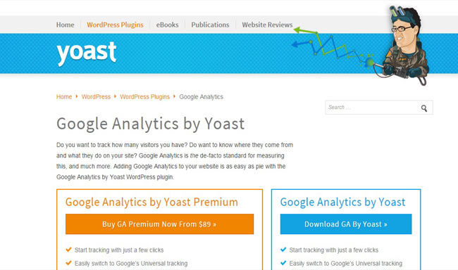 Google Analytics Yoast - Find your statistics to adjust your strategy