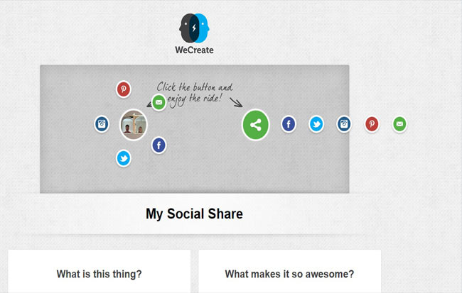 My Social - jQuery Personal Network Share Plugin