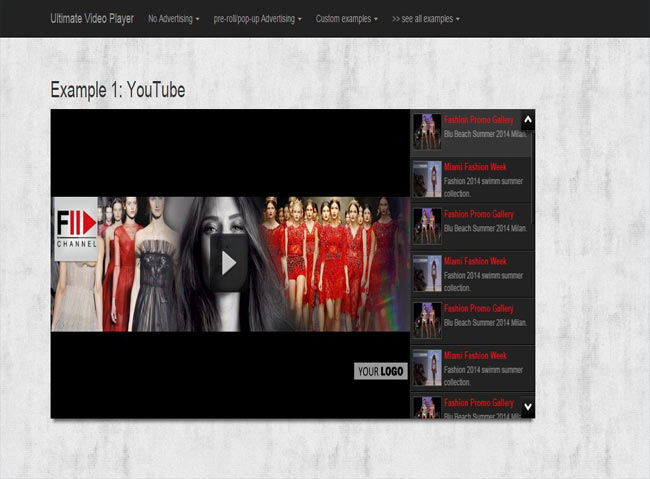 Ultimate Video Gallery with Vimeo , Youtube , Ads WP Plugin