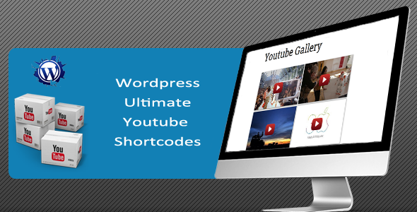 Ultimate - WordPress Youtube Shortcodes Plugin for your website