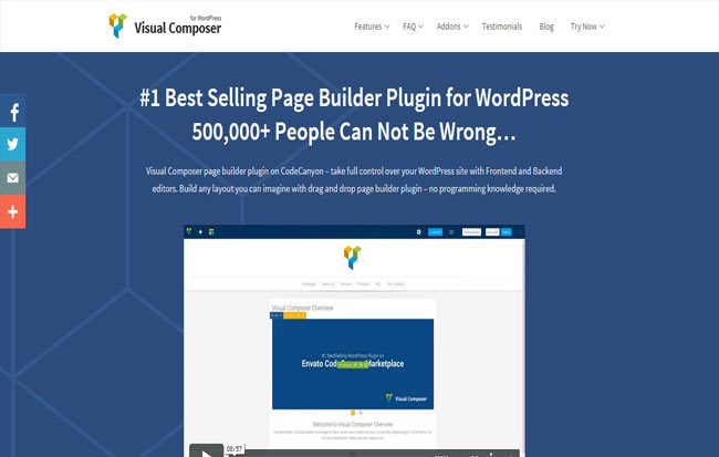 Visual Composer - Page Builder for WordPress Theme