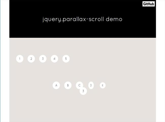 jQuery.Parallax-scroll - Smooth parallax animations with css3 transition