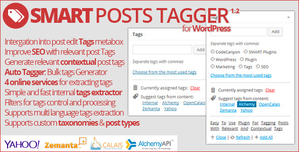 Smart Posts Tagger - Generating Tags Plugin for Posts much easier