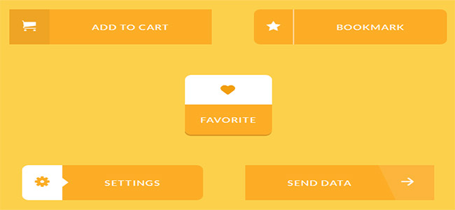11 Incredible css3 button animations for hover effects