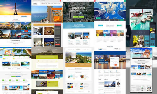 35 Attractive Collection Of Hotel Wordpress Themes