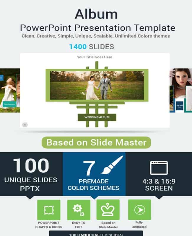 Album - PowerPoint Business Product Presentation Template