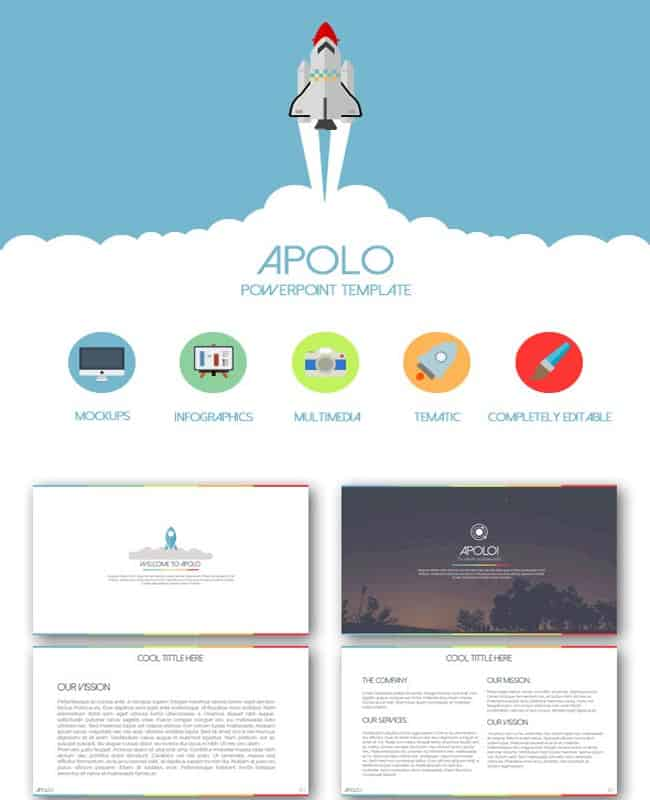 Apolo -Powerpoint Multiple Business presentation Template