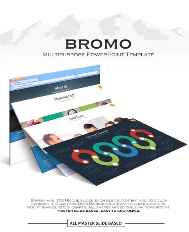 Bromo - Powerpoint Creative Multipurpose Presentation Template