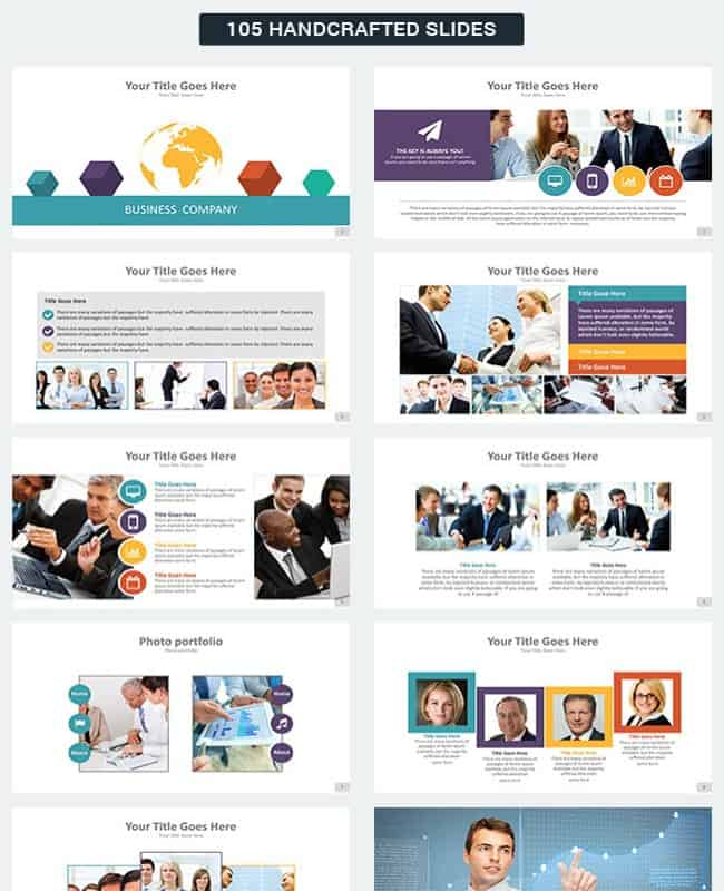 Business Plus - Presentation Template for Business