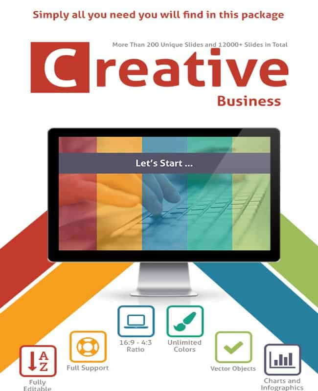 Creative Business - PowerPoint Unique Slide Template