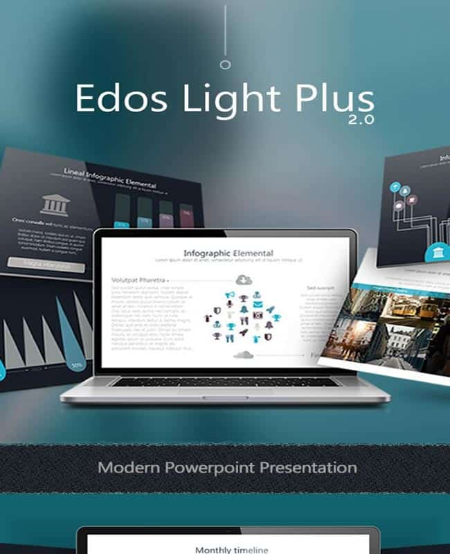 Edos LightPlus - Beautiful Animated Powerpoint Versatile Template