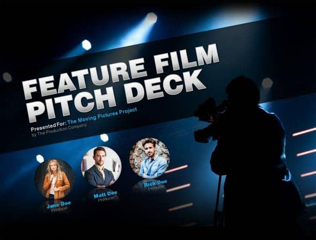Feature Film - Latest Film Project Presentation Template