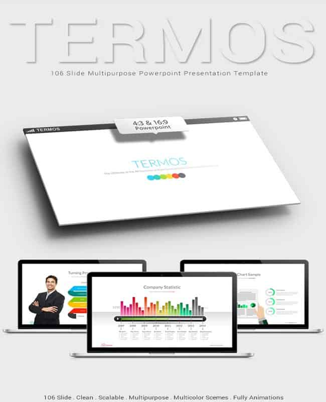 Termos - Clean and Scalable Template For Presentation