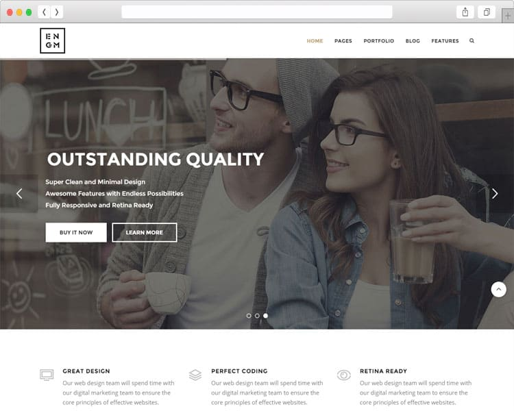 Enigma bootstrap responsive template