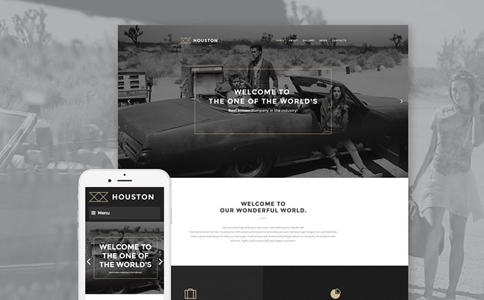 Houston WordPress Template