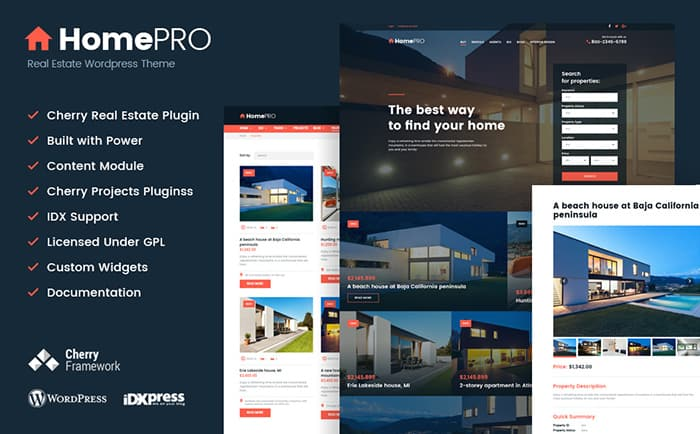 Estate Broker WordPress Theme