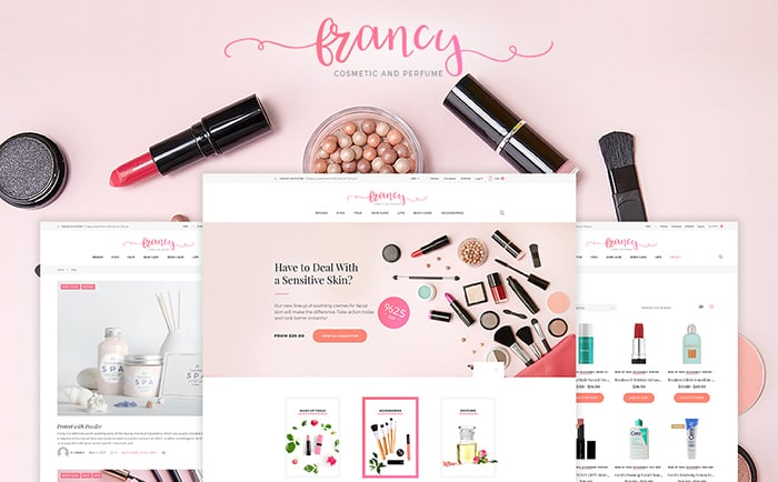 Beauty Supply Store WooCommerce Template