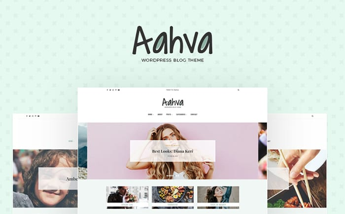 Aahva - Blogging WordPress Theme