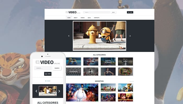 Video Blog WordPress Theme