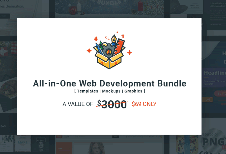 web developers bundle