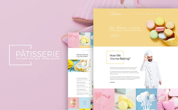 Cake Maker WordPress Theme