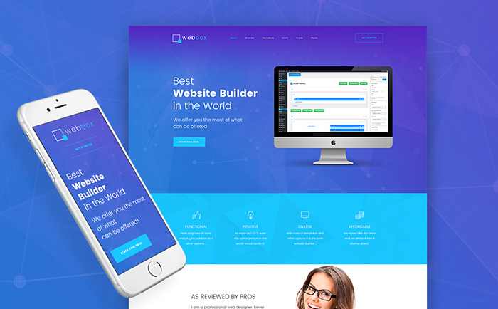 Webmaster WordPress Theme