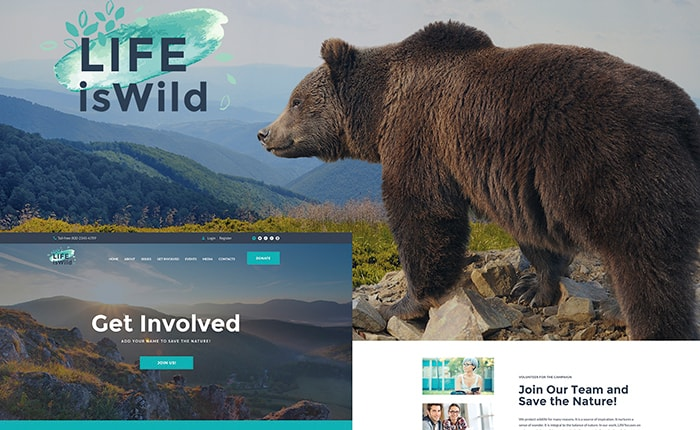 Wildlife Foundation WP Theme