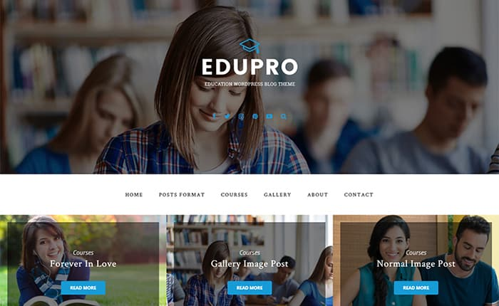EduPro WordPress Theme