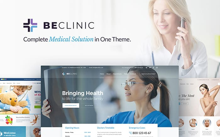 BeClinic - Multipurpose Medical