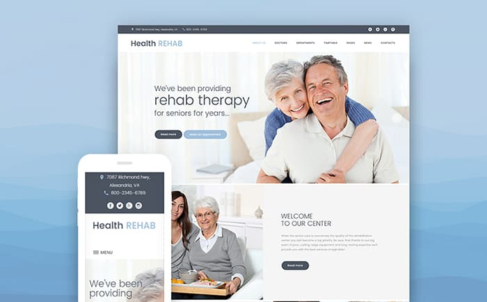 Rehabilitation Center WordPress Theme