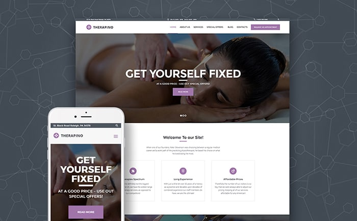 Reflexology WordPress Theme
