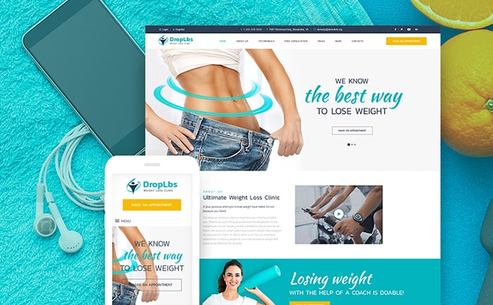 Weight Loss WP Theme