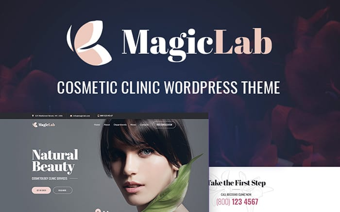 MagicLab - Cosmetic Clinic WordPress Theme