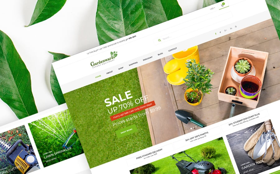 Gardenware - Garden Equipment WooCommerce Theme